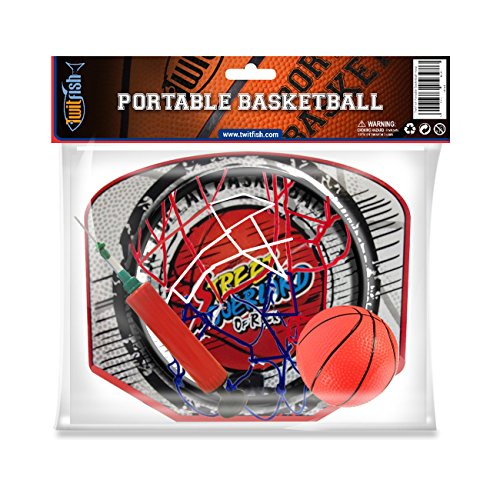 4ad224f21761 Twitfish® - Mini Canestro da Basket per uso Domestico - BasketBall Time