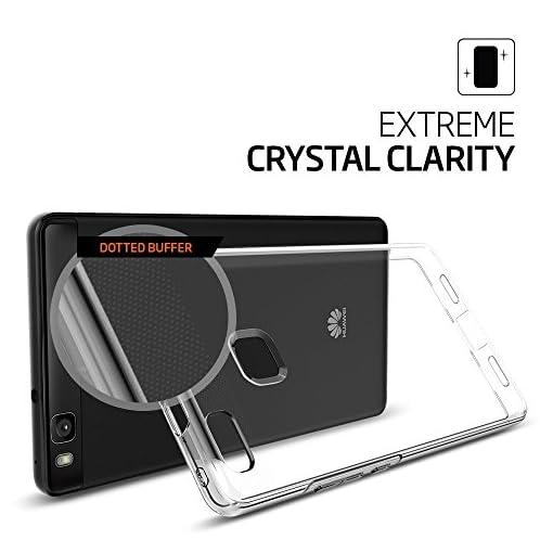 Custodia Huawei P10 Lite Cover Glitter Protettiva Clear Ultra Sottile Spigen