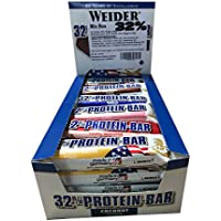 Weider 32% Bar 24, Mixed Pack by Weider