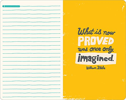 Remember, ideas become things. (Write Now Journal)