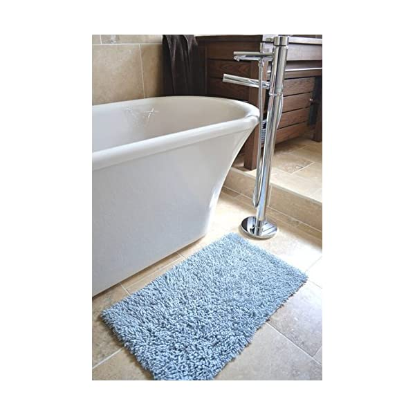 Bath Mat in 100% Twisted Cotton, Set of 2 51mZM uRjZL