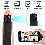 Caméra cachée, Caméra de sécurité HD 1080p WiFi avec détecteur de Mouvement,...