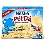 Nestlé p'tit dej vanille mini format 2x200ml - ( Prix Unitaire ) - Envoi Rapide Et Soignée