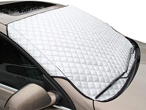 Rhelf Auto-Windschutzscheibe Abdeckung, Windschutzscheibe Frostschutz- Auto mit Schnee bedeckt Sonnenschutz bei allen Wetterschutzwindschutzscheibe Q5 A4L A6L Q3 A3 Q7 Insulated vorne Getriebe Shading
