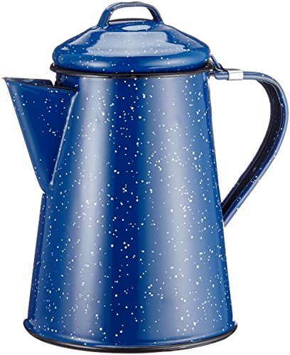 GSI GSI-15150 Blue Enamel Coffee Pot - 6 Cup by GSI