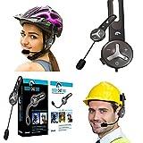 BuddyChat DUO - 2er Set Universal Bluetooth 3.0 Helm Headset Gegensprechanlage Intercom 1km Reichweite Freisprechanlage Kommunikationssystem Sport- und Freizeit für Smartphone/Handy