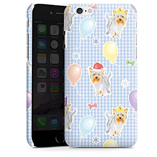 Apple iPhone X Silikon Hülle Case Schutzhülle Hunde Yorkshire Geburtstag Premium Case matt