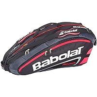 Team Line 6 Racket Bag, Black/Red, One Size