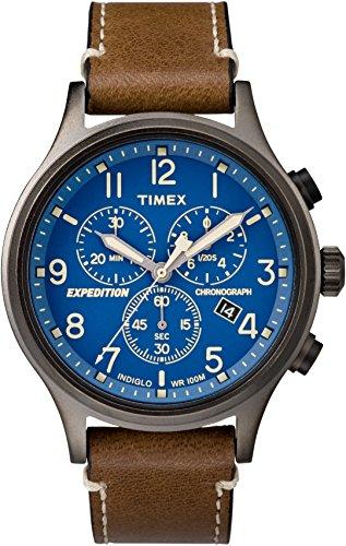 Timex Orologio Analogico Quarzo Uomo con Cinturino in Pelle TW4B09000ZA