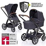 ABC Design Condor 4 (2019) - Kombikinderwagen - XXL Kinderwagen Set 2in1 - inkl. Babywanne, Sportwagen, Regenschutz, Insektenschutz, Sonnensegel - Street