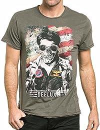 Deeluxe - Camiseta - Manga corta - para hombre