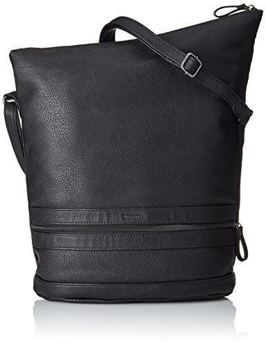 Tamaris - Smirne Hobo Bag, Borse a Tracolla Donna Nero (Black 001)