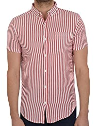 SoulStar - Chemise casual - Manches Courtes - Homme