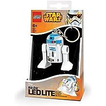 LEGO - Star Wars R2D2, mini linterna, 7,6 cm (20394-15)