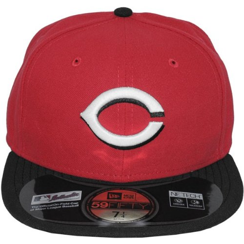 New Era - Casquette Fitted Homme Cincinnati Reds 59Fifty Authentic Collection