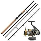 Daiwa Norwegen Travell Angelset Combo Reise Angelrute & Angelrolle Set NO.2
