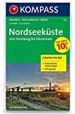 Nordseeküste, von Hamburg bis Dänemark: 1:50.000, 2-teiliges Wanderkarten-Set mit Naturführer. GPS-genau