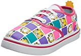 Garfield Boy's Yellow and Red Print Canvas Sneakers    - 6.5 UK/30 EU