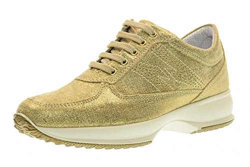 IGI&CO scarpe donna sneakers basse 77669/00 PLATINO Platino