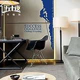 BBH.LEE Hard Rock Kletterwand/Incentive/Office Studie Hintergrund Wall Sticker, Blau, Groß