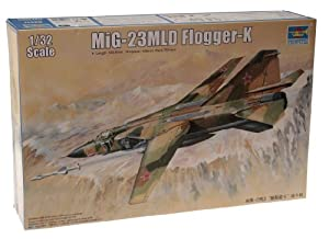 Trumpeter 03211 MiG 23 MLD Flogger-K - Avión en miniatura (escala 1:32) importado de Alemania