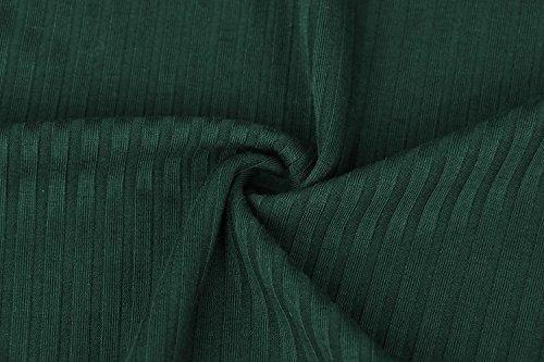 Misschicy -  Maglia a manica lunga  - Tunica - Maniche lunghe  - Donna Green