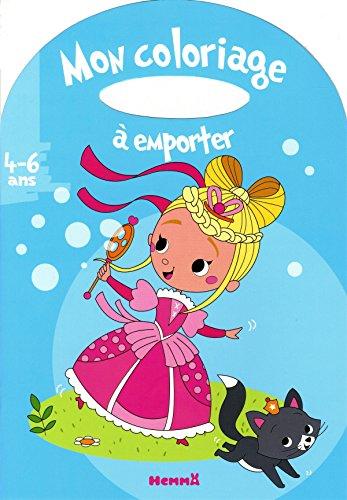 Mon coloriage à emporter (4-6 ans) (Princesse) par COLLECTIF