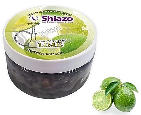 SHIAZO - Pierre à Chicha à Vapeur pour Foyers, Goût Citron Vert (Sans Tabac, Sans Nicotine, Saveur Intense)