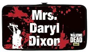 (4x 7) The Walking Dead–Mrs Daryl Dixon Portefeuille à charnière