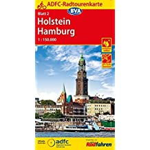 ADFC-Radtourenkarte 2 Holstein Hamburg 1:150.000, reiß- und wetterfest, GPS-Tracks Download (ADFC-Radtourenkarte 1:150000)