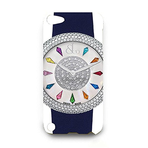 jacob-co-watches-ladies-collection-customized-thin-durrable-plastic-3d-case-cover-l6m045-for-ipod-to