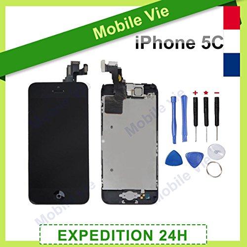 ecran-lcd-retina-vitre-tactile-tout-assembl-complet-sur-chssis-pour-iphone-5c-noir-outils