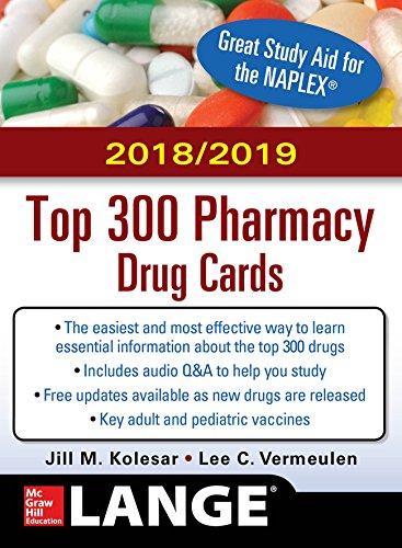 McGraw-Hill's 2018/2019 Top 300 Pharmacy Drug Cards (English Edition) (Nursing Cards Drug)