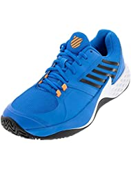 release date: 32501 be6be K-Swiss Chaussure Aero Court Brilliant Blue Neon Orange 9,5 UK,