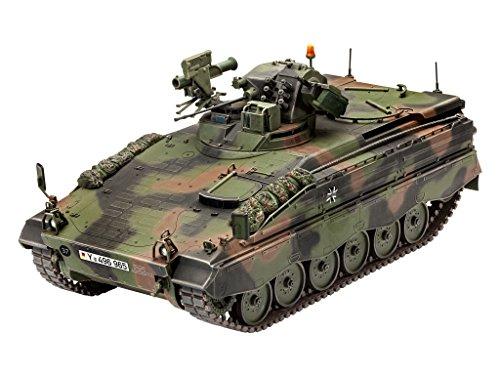 Revell 03261 Modellbausatz, Panzer 1:35 - Spz Marder 1 A3, Level 4, Orginalgetreue Nachbildung mit Vielen Details (Modell Panzer Farbe)