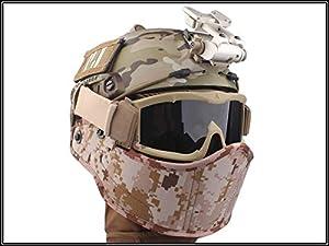 combat armour masques pour casque Multicam MC