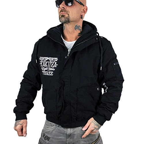 Yakuza Original Herren Hunter And Hunted Winterjacke