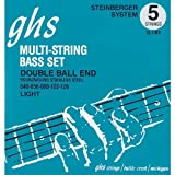 GHS 5ldbb 40–126 Light String Bass Double Ball End String Set