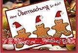 metALUm Weihnachtskarte LEBKUCHEN #1024005S