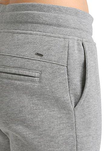 DESIRES Derby Damen Sweat Pant Relaxed Hose Freizeithose Joggighose aus hochwertiger Baumwollmischung Meliert Light Grey Melange (8242)