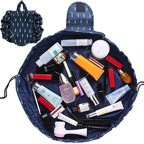 Kosmetiktasche, AAFGXSP Lazy Schminktasche One-Step Organizer Make Up Tasche Kosmetikbeutel Kordelzug Make up Kulturtasche für Unterwegs Urlaub Reise -
