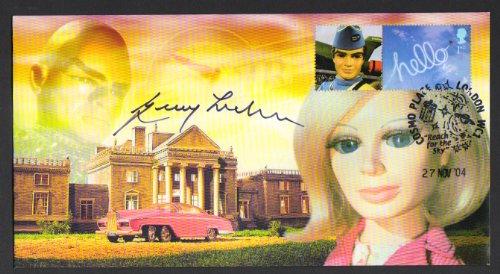 Thunderbirds Offizielle Gerry Anderson handsignierten GEDENKMÜNZE Cover