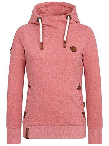 Naketano Damen Sweatshirt Koralle (73) M