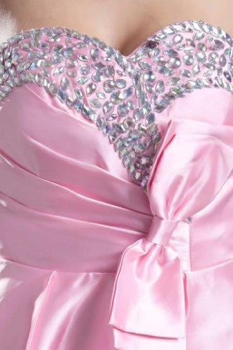 Lemandy - Robe - Sans Manche - Femme rose rose Rose
