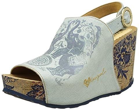 Chaussures Desigual - Desigual Swan Elephant, Sandales Bride Arriere Femme,