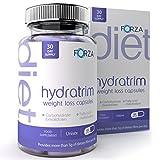 FORZA Hydratrim Perdita di Peso - Glucomannano Fibra Radice di Konjac - Con Zinco - 180 Capsule immagine