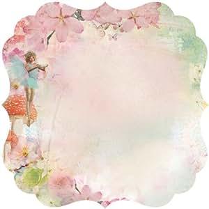 Enchanted Garden découpées papier cartonné 12 « X 12 »-croire