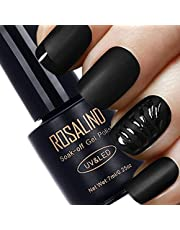 Icon Rosalind 1Pcs Matt Top Coat Nail Art Uv Gel Polish 7Ml Matte Top Coat Led U