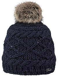 Amazon.fr   pompon fourrure - Casquettes, bonnets et chapeaux ... 90aafcebe8b