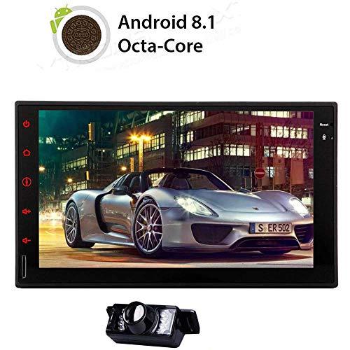 grande 8 Andorid 7.1 Funzionamento del sistema Multimedia Player Doppio 2 din in precipitare GPS Octa core 2 GB di RAM 32 GB ROM di navigazione 3D MAPPA Bluetooth unit/¨/¤ principale touch screen digit
